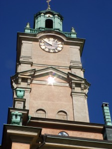 Stockholm Cathedral bell tower