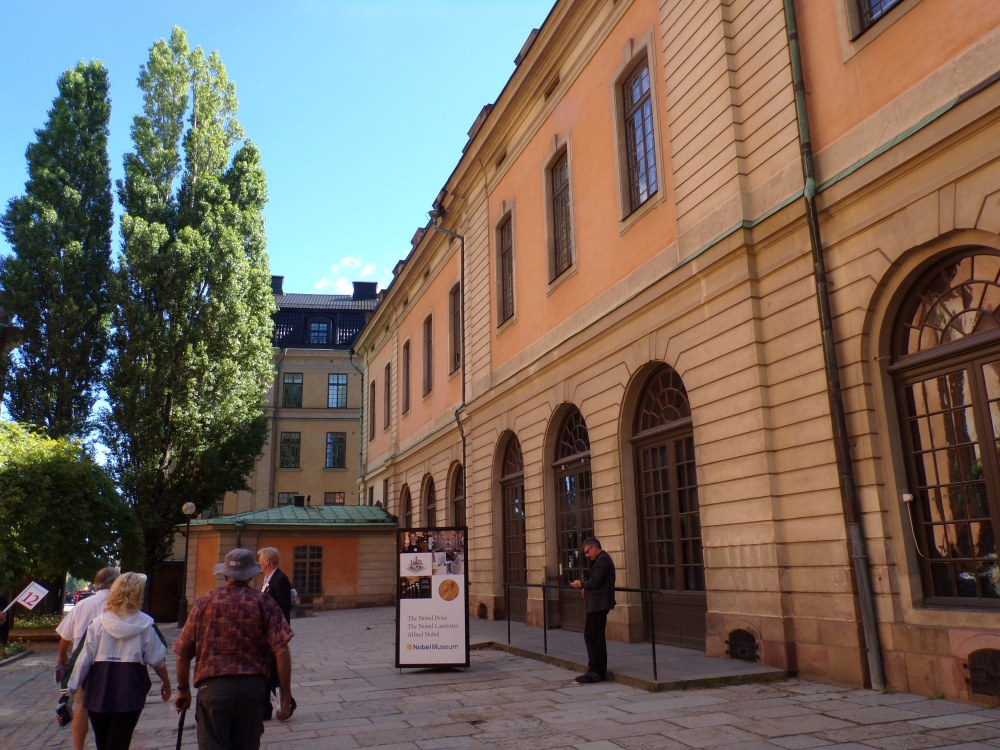 Another view of the Nobel Museum