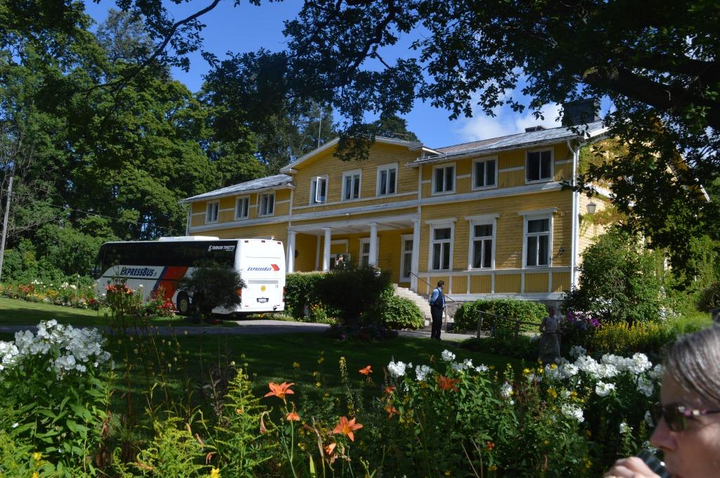 Savijarvi Farm: manor house