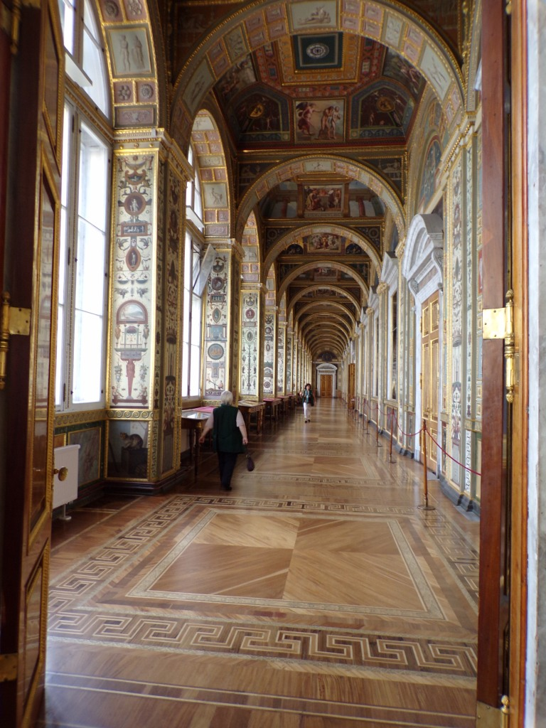 The Rafael loggia at the Hermitage Museum, St. Petersburg, Russia
