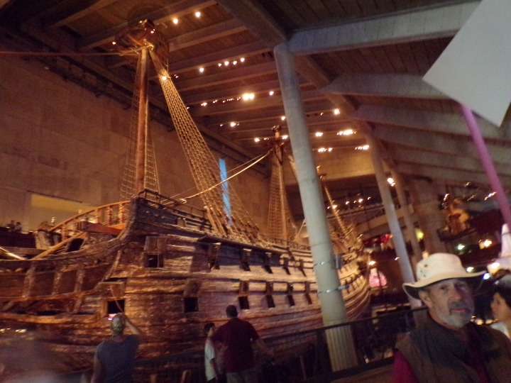 The reconstructed ship