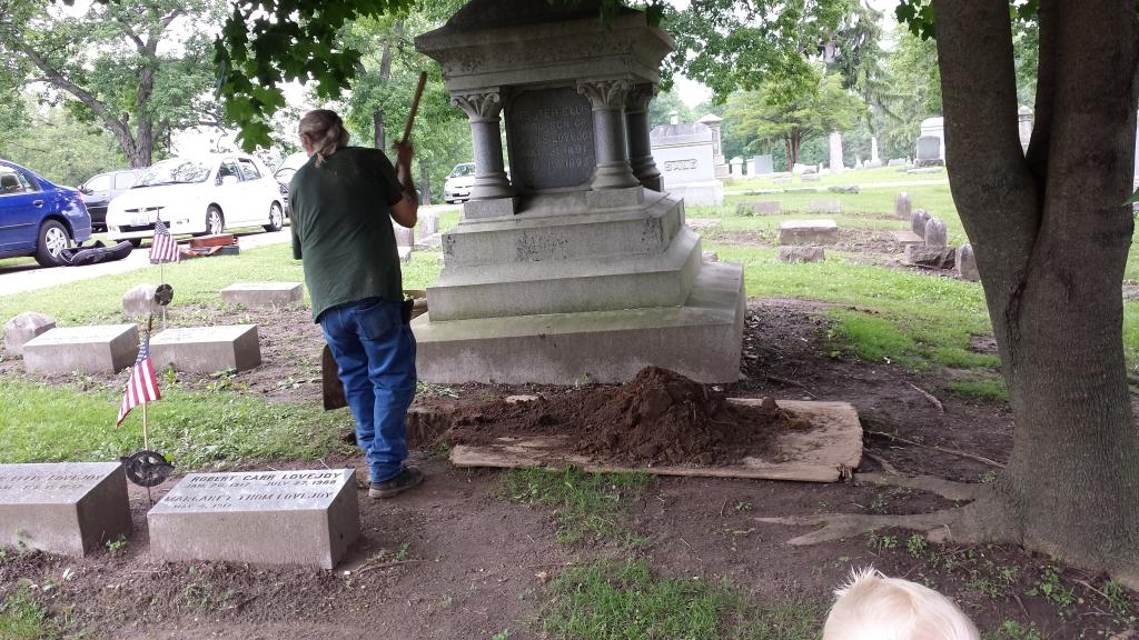 Burying the urn
