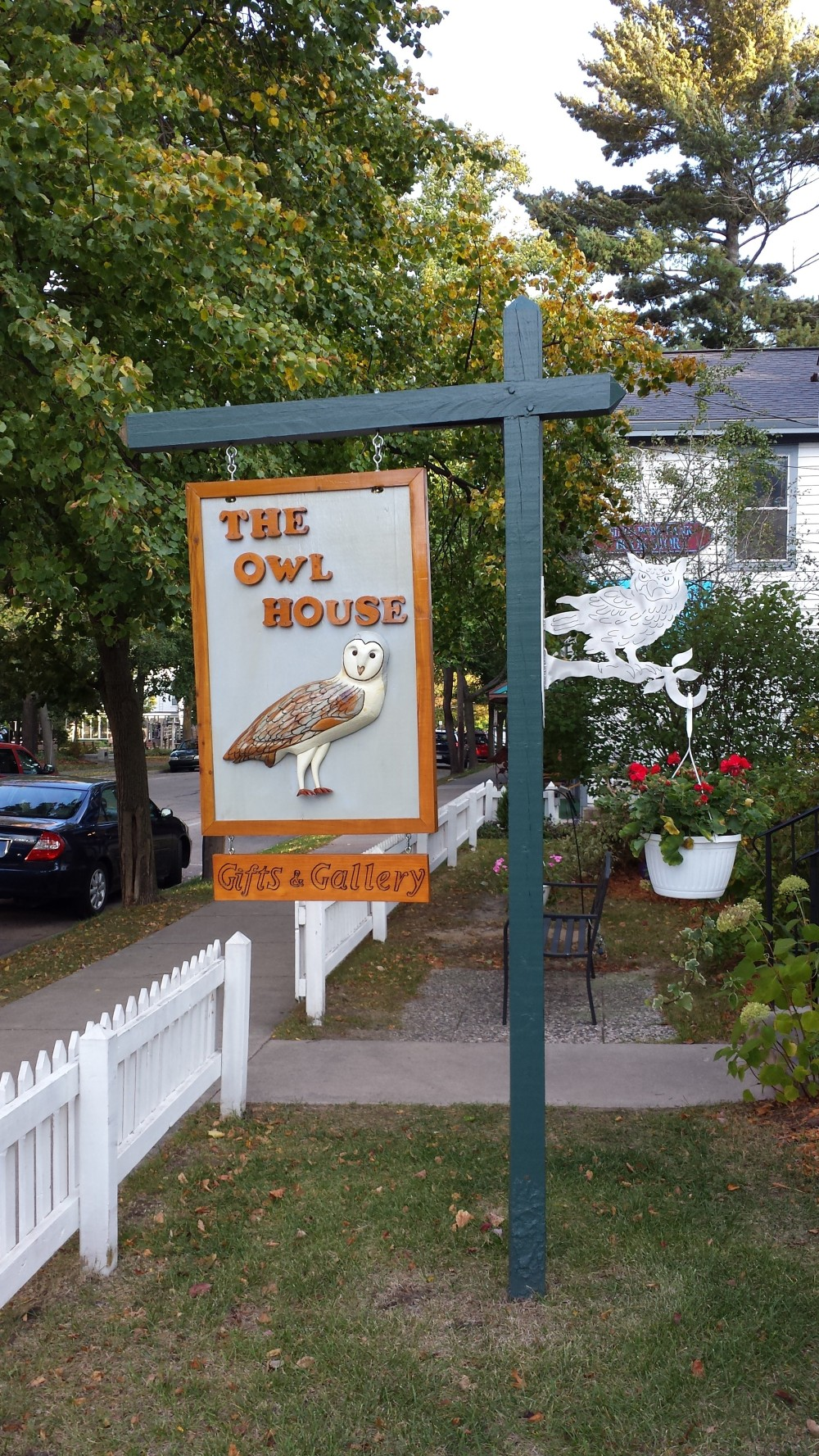 The Owl House - I liked the sign!