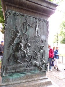 Another bas relief of a battle scene