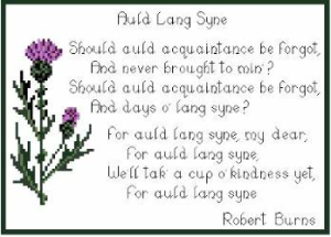Auld Lang Syne-words