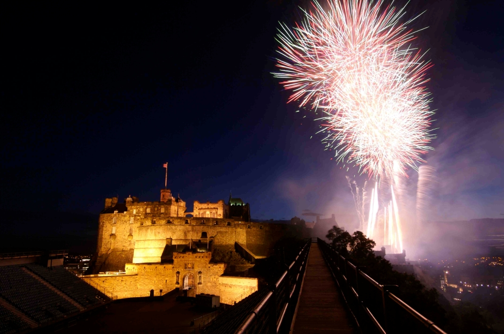 Hogmanay Festival Fireworks