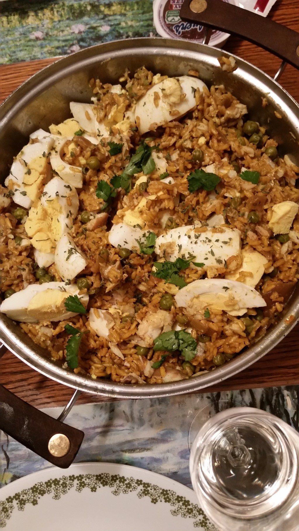Kedgeree made by Katy and Tam