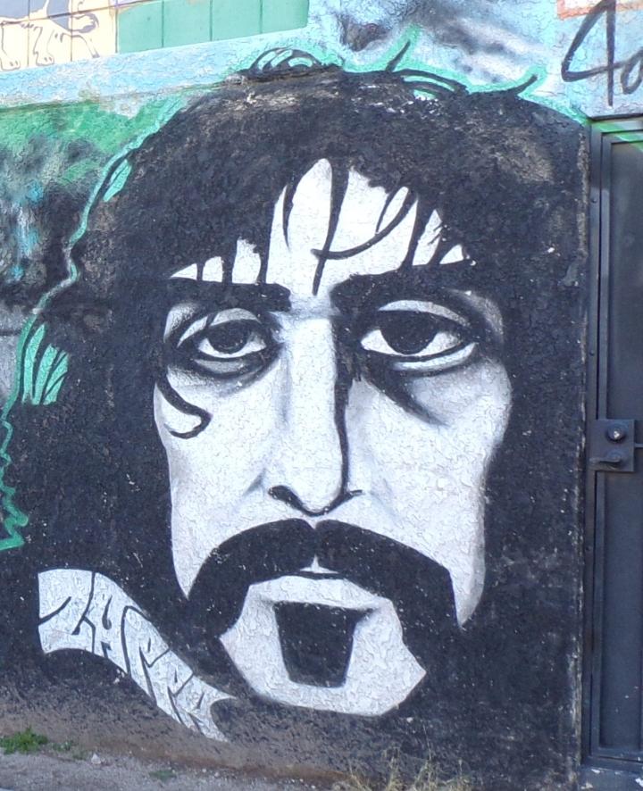 "Detail from ""Hippie Gypsy"" mural - Tucson, AZ"