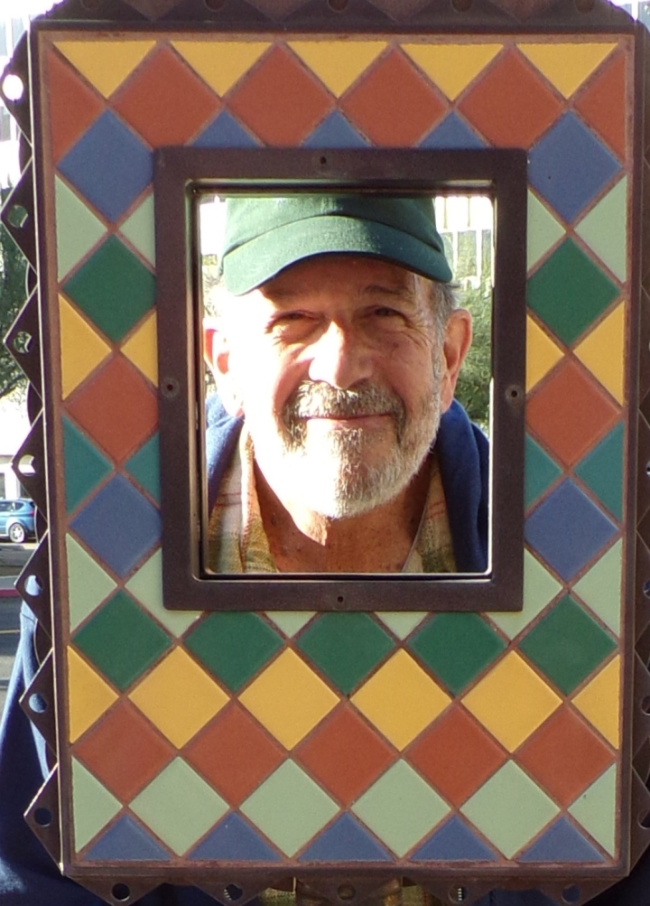 Dale's face framed!
