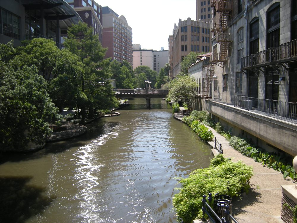 San Antonio River view