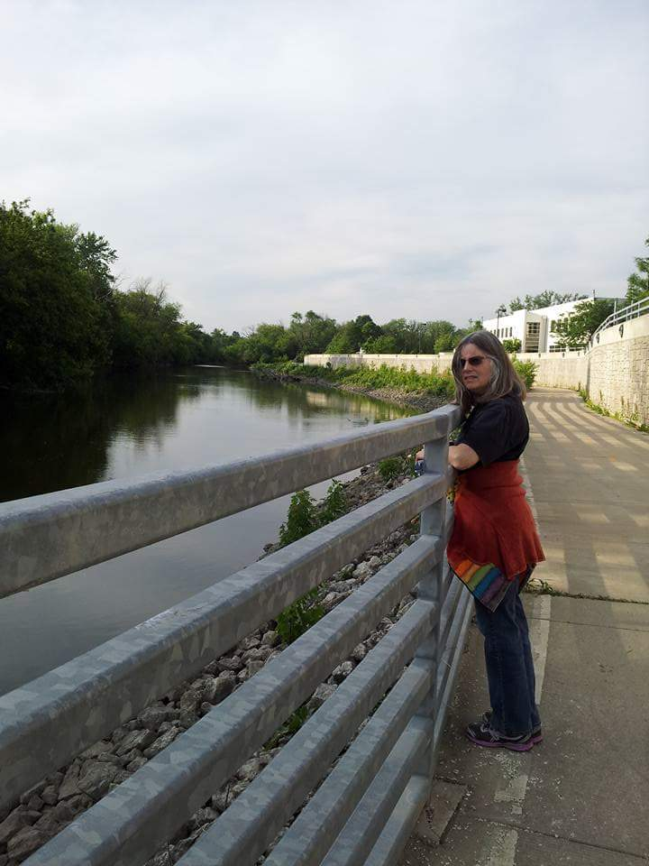 Me on the DP River trail