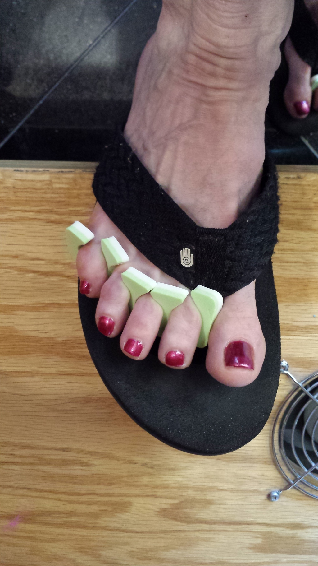 My new pedicure!