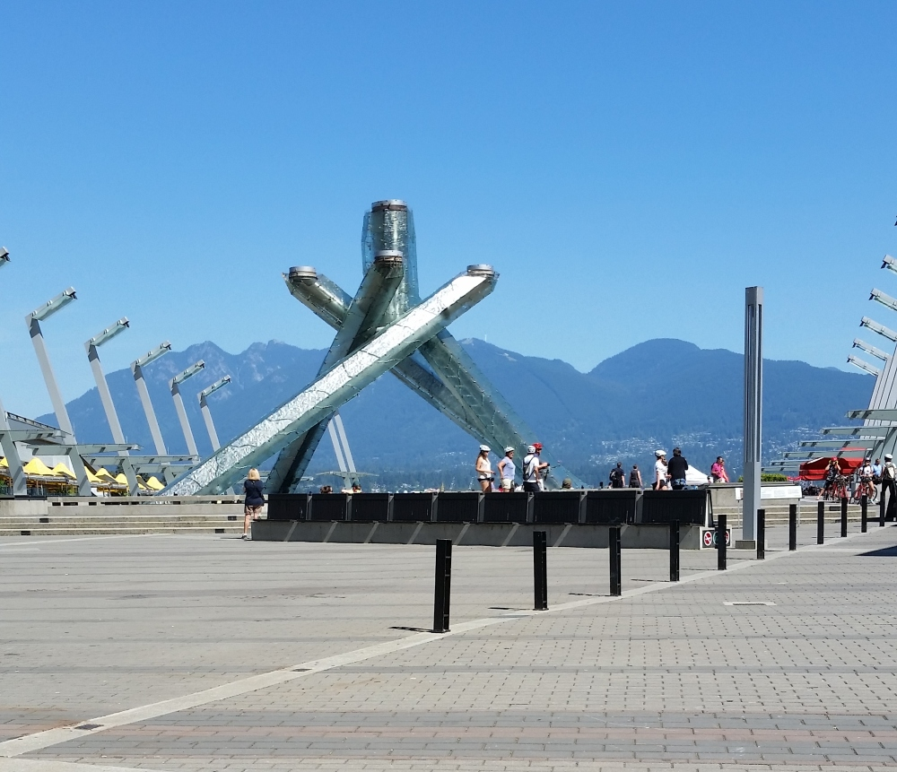 Cauldron of the 2010 Winter Olympics in Vancouver
