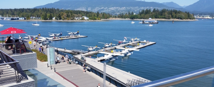 Float plane airport/marina