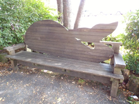 Whale bench!