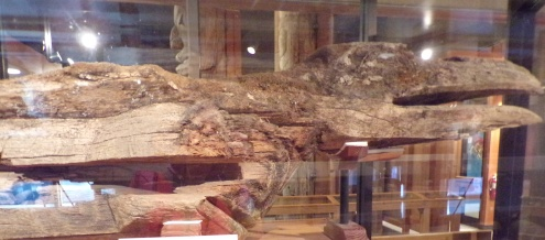 Raven mortuary pole, Tlingit (see next pic)