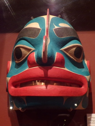 Tlingit with Raven Spirit Emerging. Tlingit-style mark, 1987 by Steve Brown