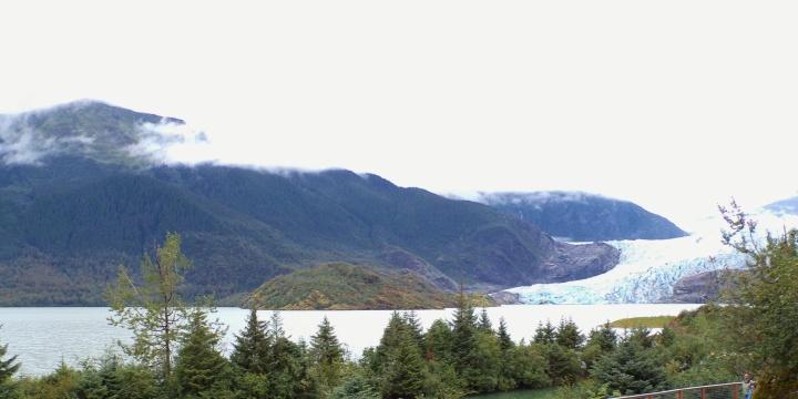 Mendenhall Glacier and Auke Lake