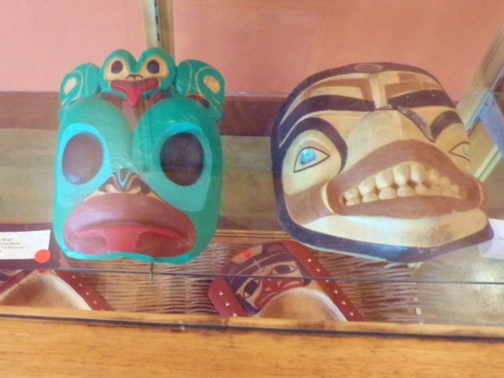 Tlingit masks