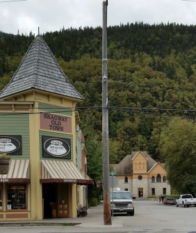 Skagway downtown side street