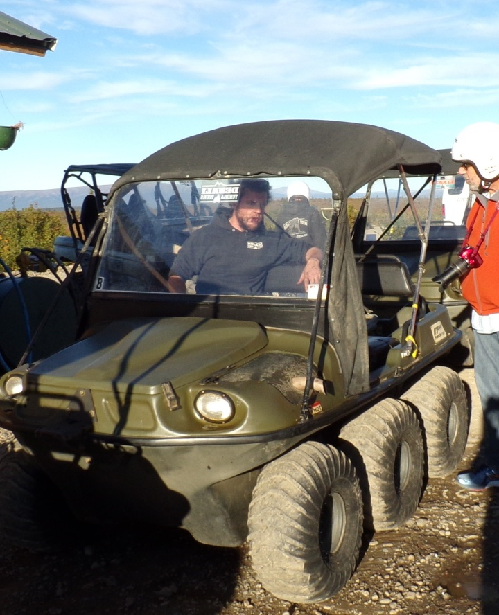 A quick lesson on driving and safety features on the ATV