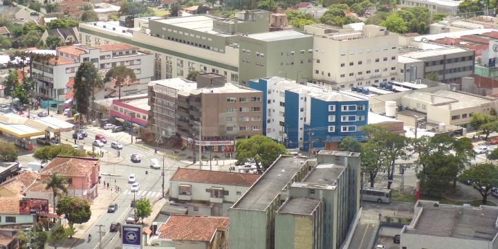 Curitiba from Panoramic Tower