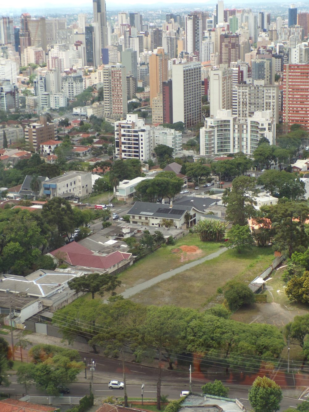 Nice view of downtown Curitiba