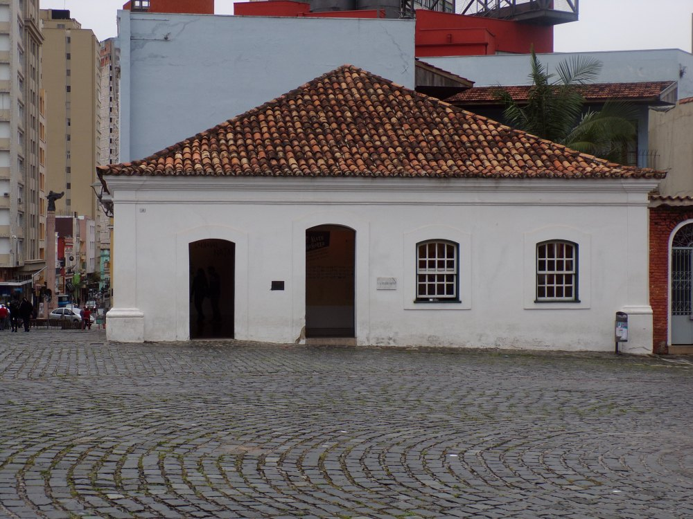 Curitiba's oldest building, now a small museum.