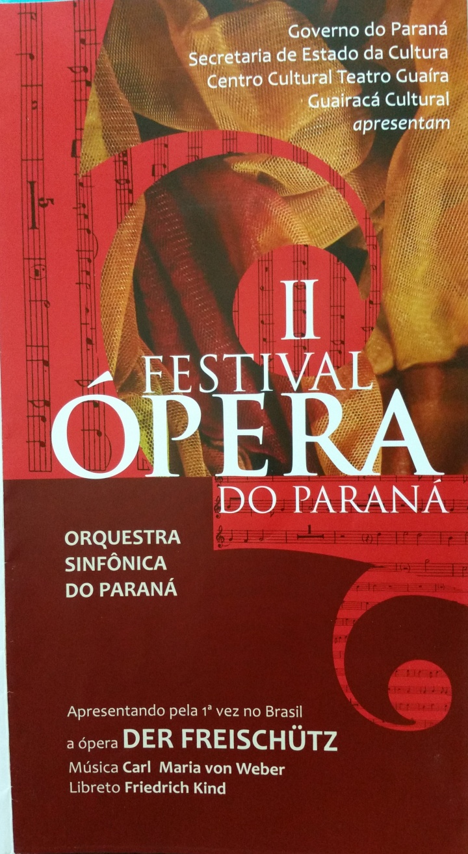 2nd Parana Opera Festival