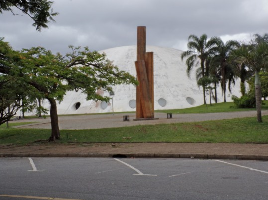 I think this is the planetarium at Ibirapuera Park.