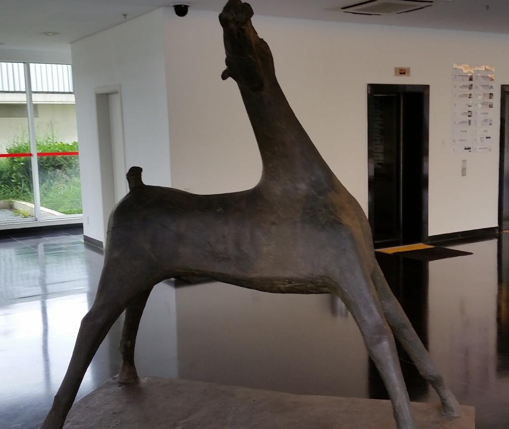 Grande Cavalo (1951) by Marino Marini; bronze