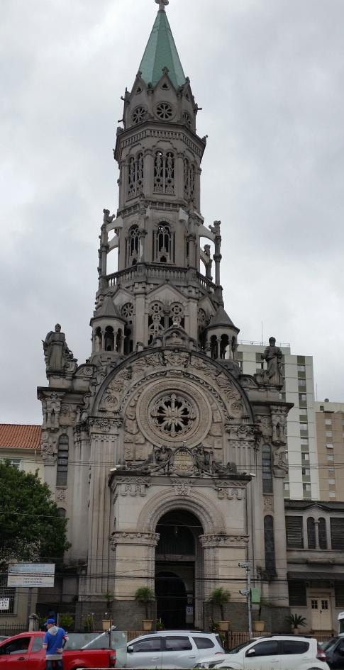 Church on Rua Domingo de Moraes, en route to Santa Cruz mall and metro station
