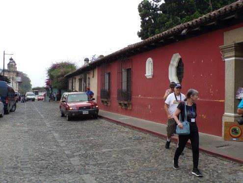 Cobblestone street-Antigua