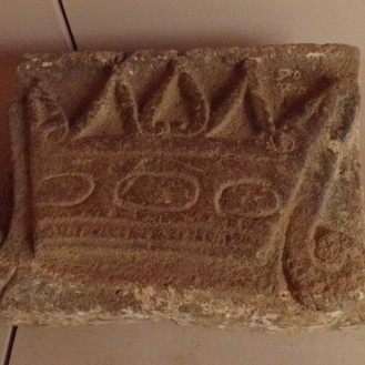 Crown-stone at convent