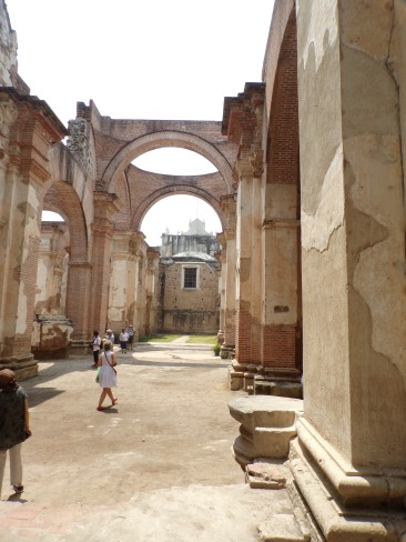 Church ruins - Antigua