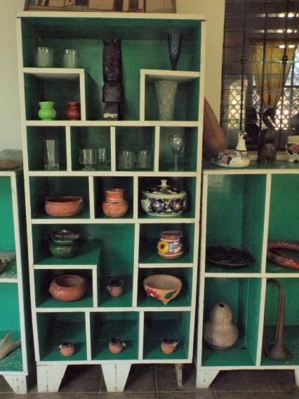 Exhibit of pots