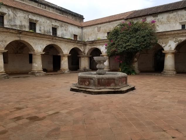 Courtyard-Capuchin convent