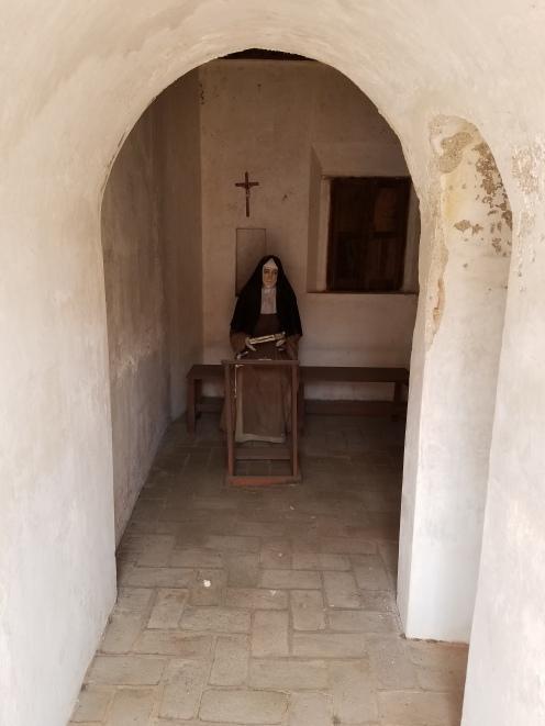A nun's private moment
