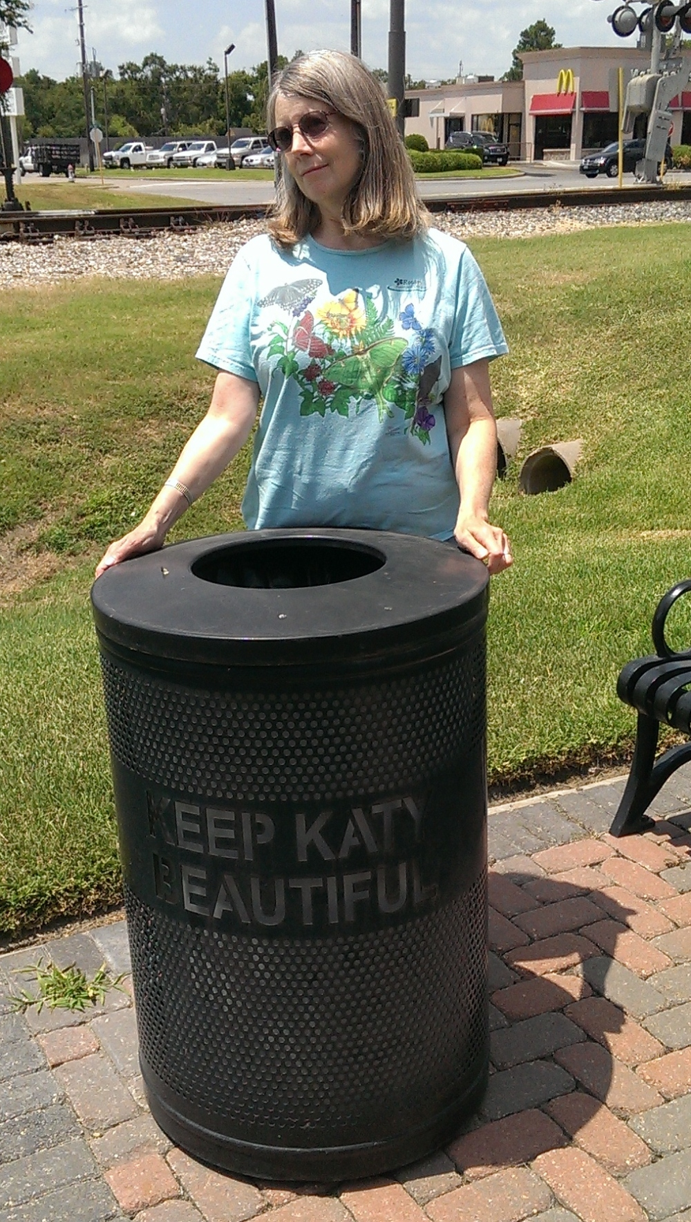 Keep Katy Beautiful! But I already am, darling!!