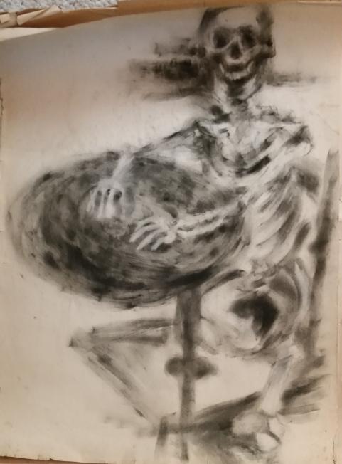 Skeleton (Charcoal)