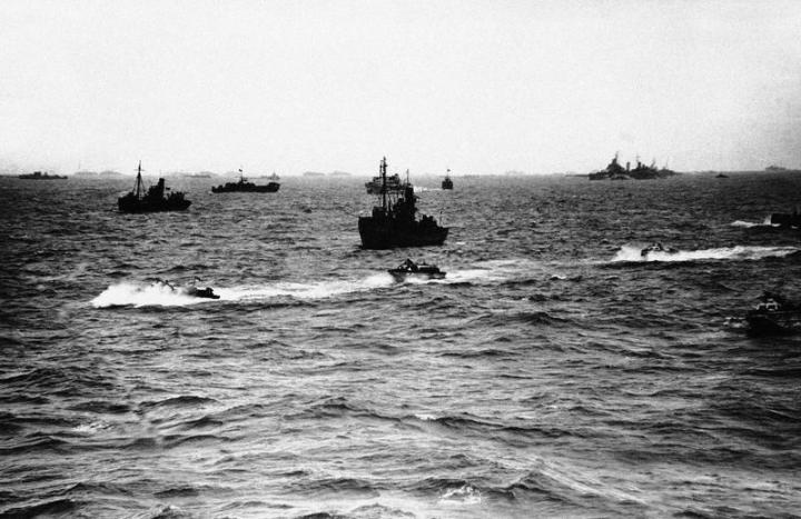 D-day invasion naval force