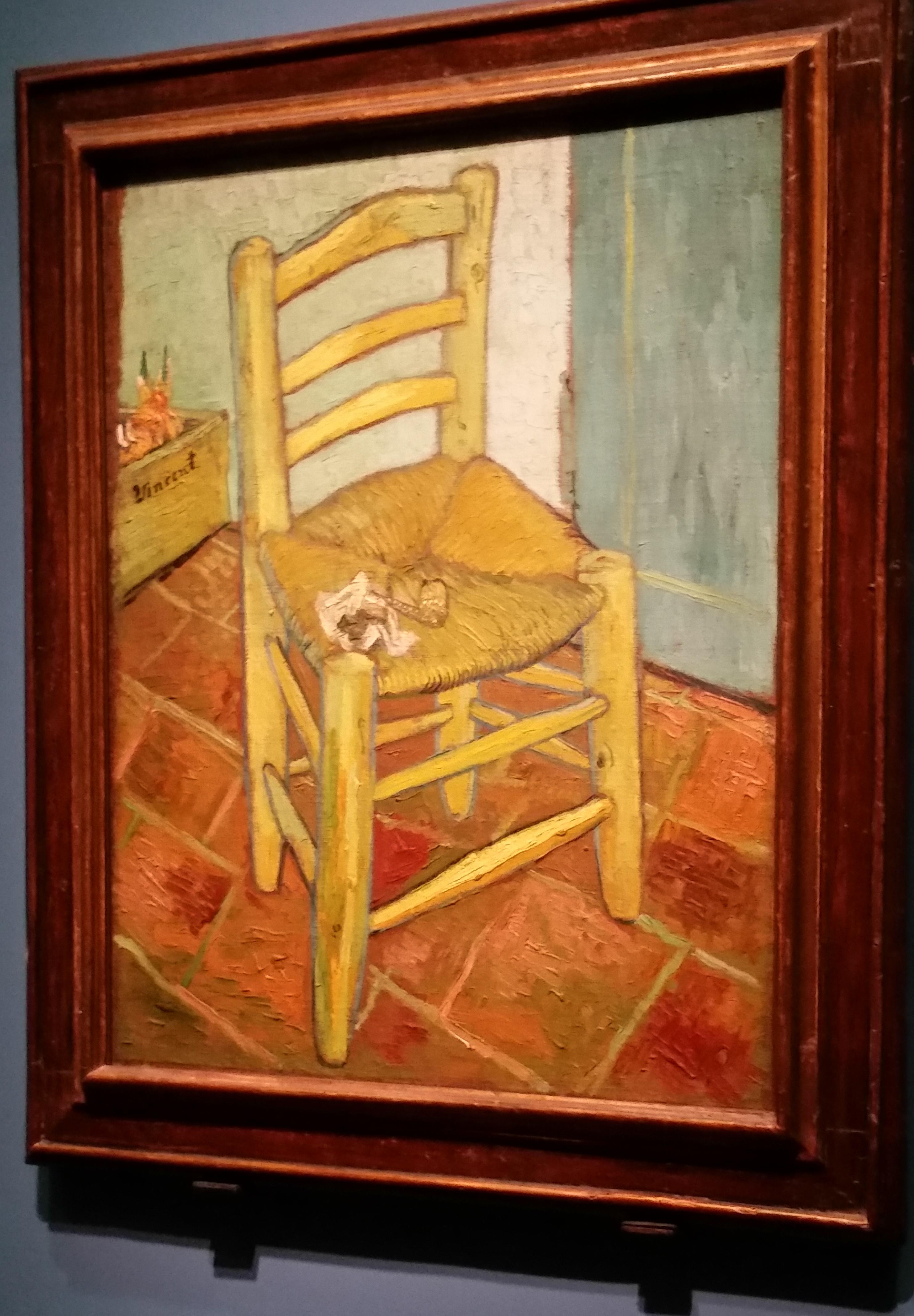 """van Gogh's Chair"""