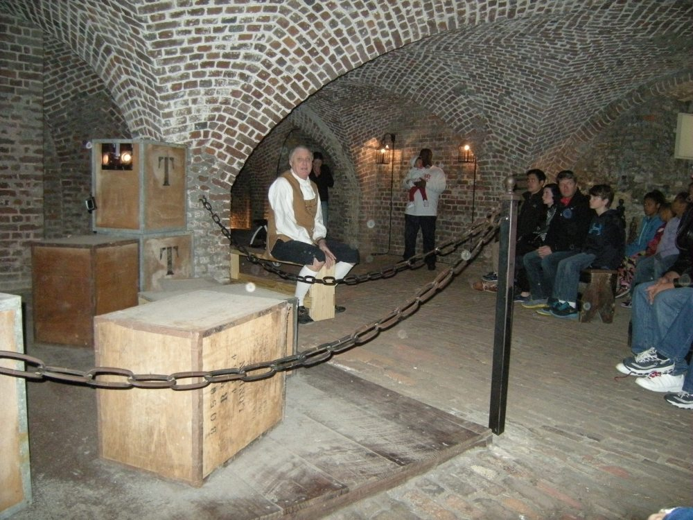 The dungeon tour