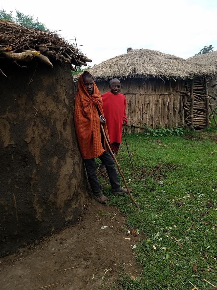 2-7 Maasai boys