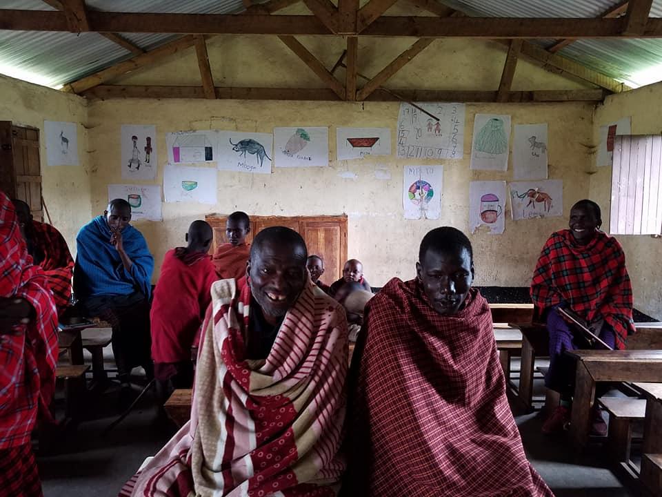 2-7 teachers at Maasai school