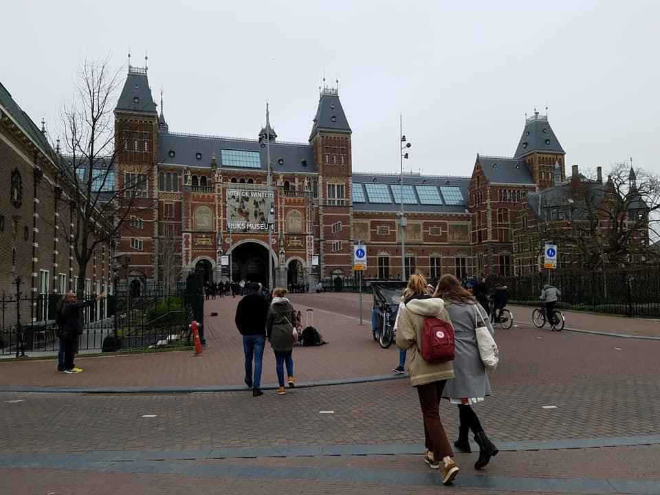 1-29 Rijksmuseum front facade