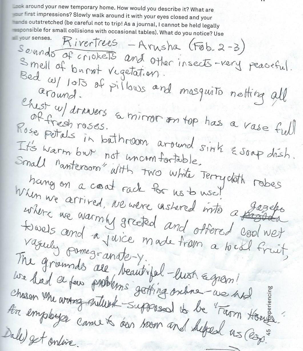 Travel Journal p45