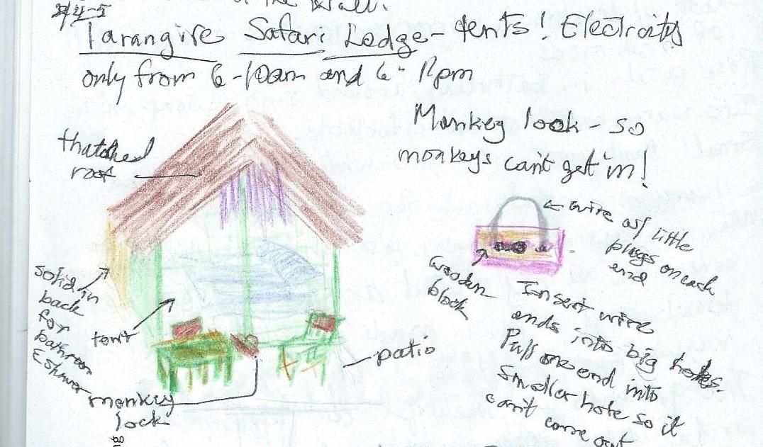 Travel Journal p46-Tarangire Safari Lodge