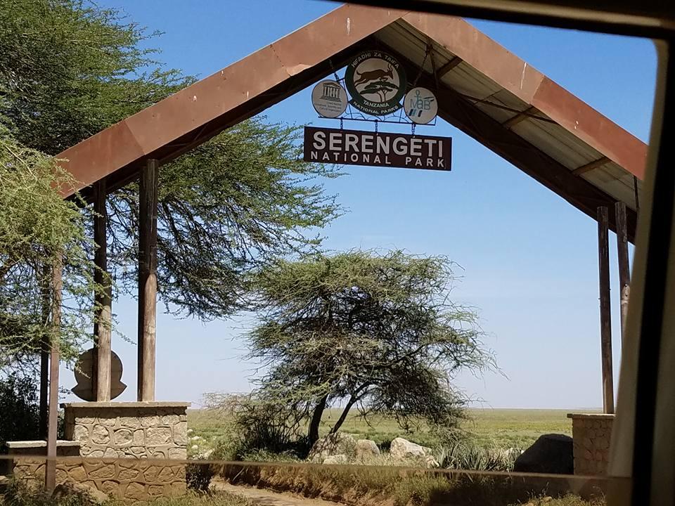 2-11 entrance to Serengeti NP
