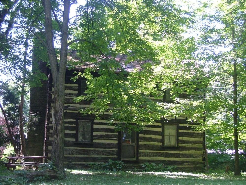 Log cabin June 2012